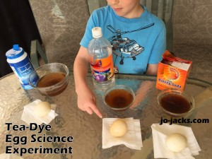 Tea Dye Egg Science