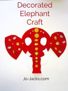lotus flowers and elephants crafts