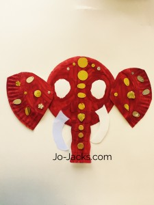 lotus flowers and elephants craft
