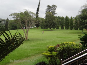 Botanical garden in Kandy
