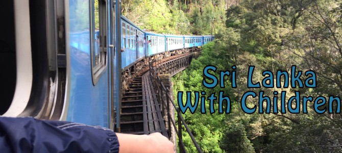 Train Ride in Sri Lanka with Children