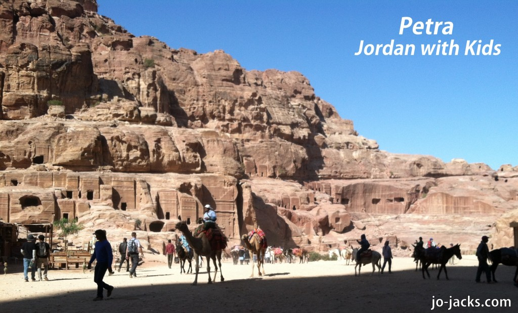 Jordan with Kids - Petra