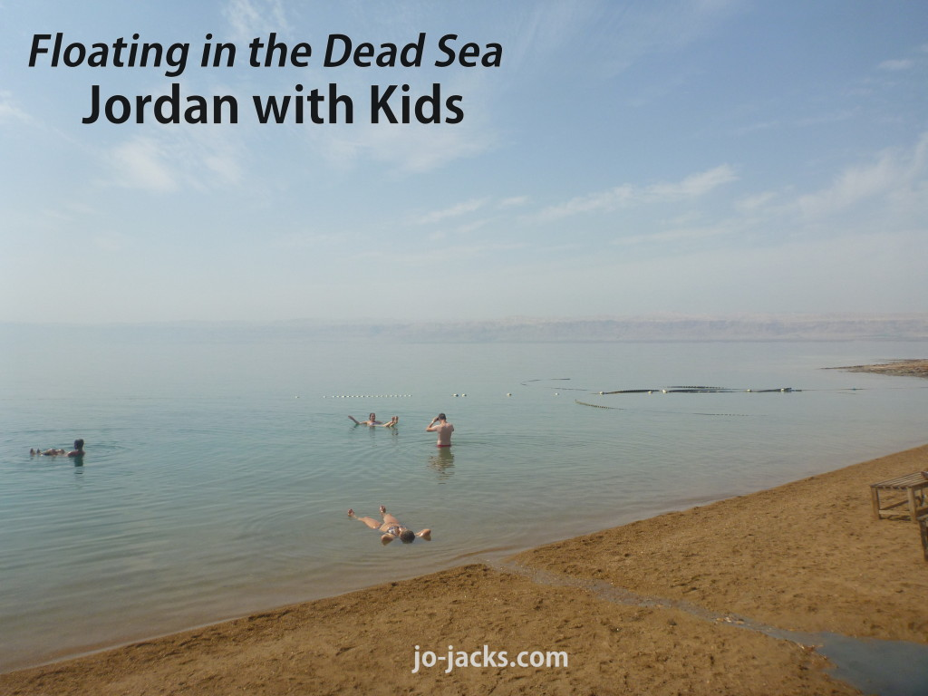 Jordan with Kids - Dead Sea