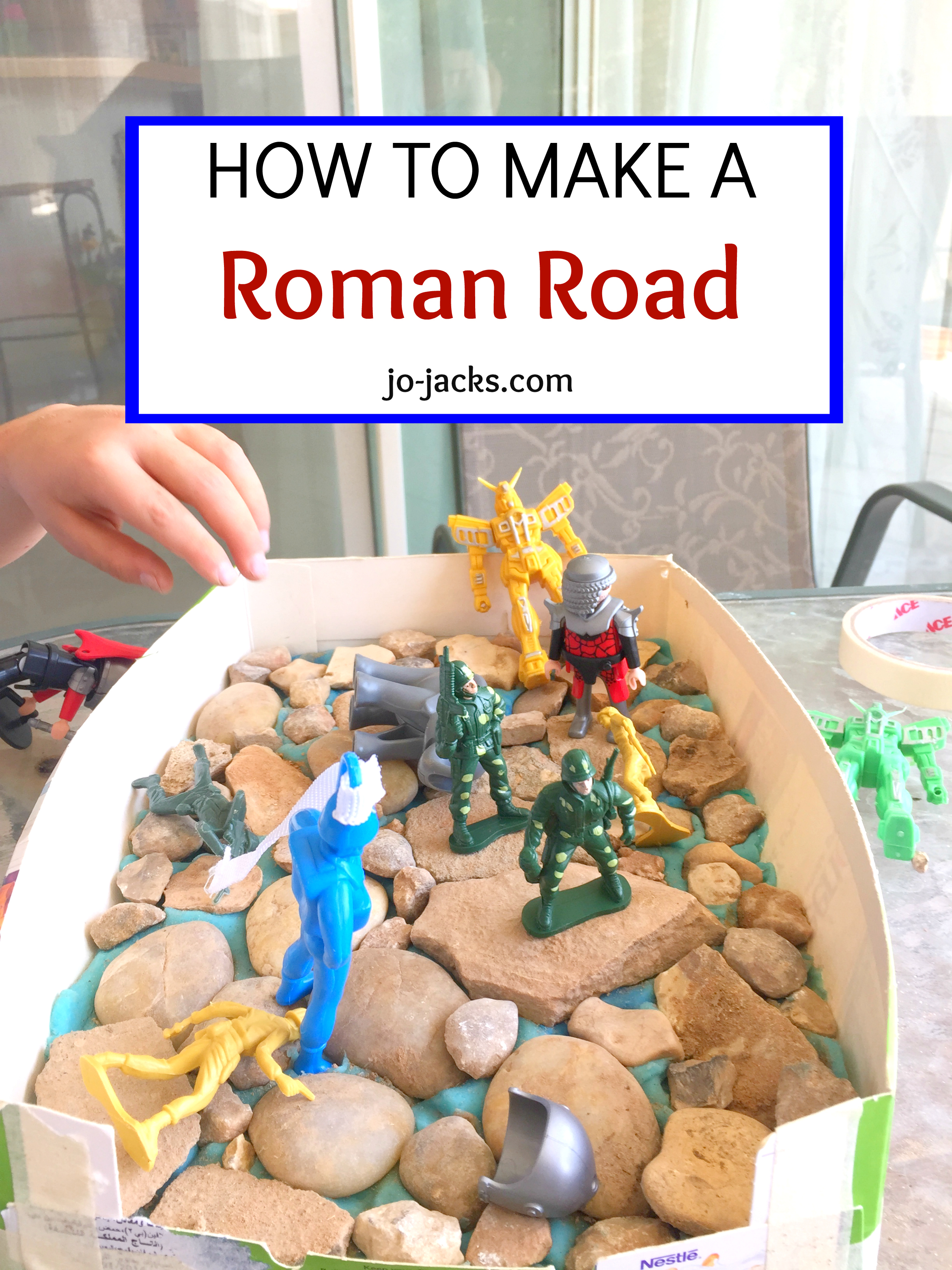 Learn about Jerash - Make a Roman Road