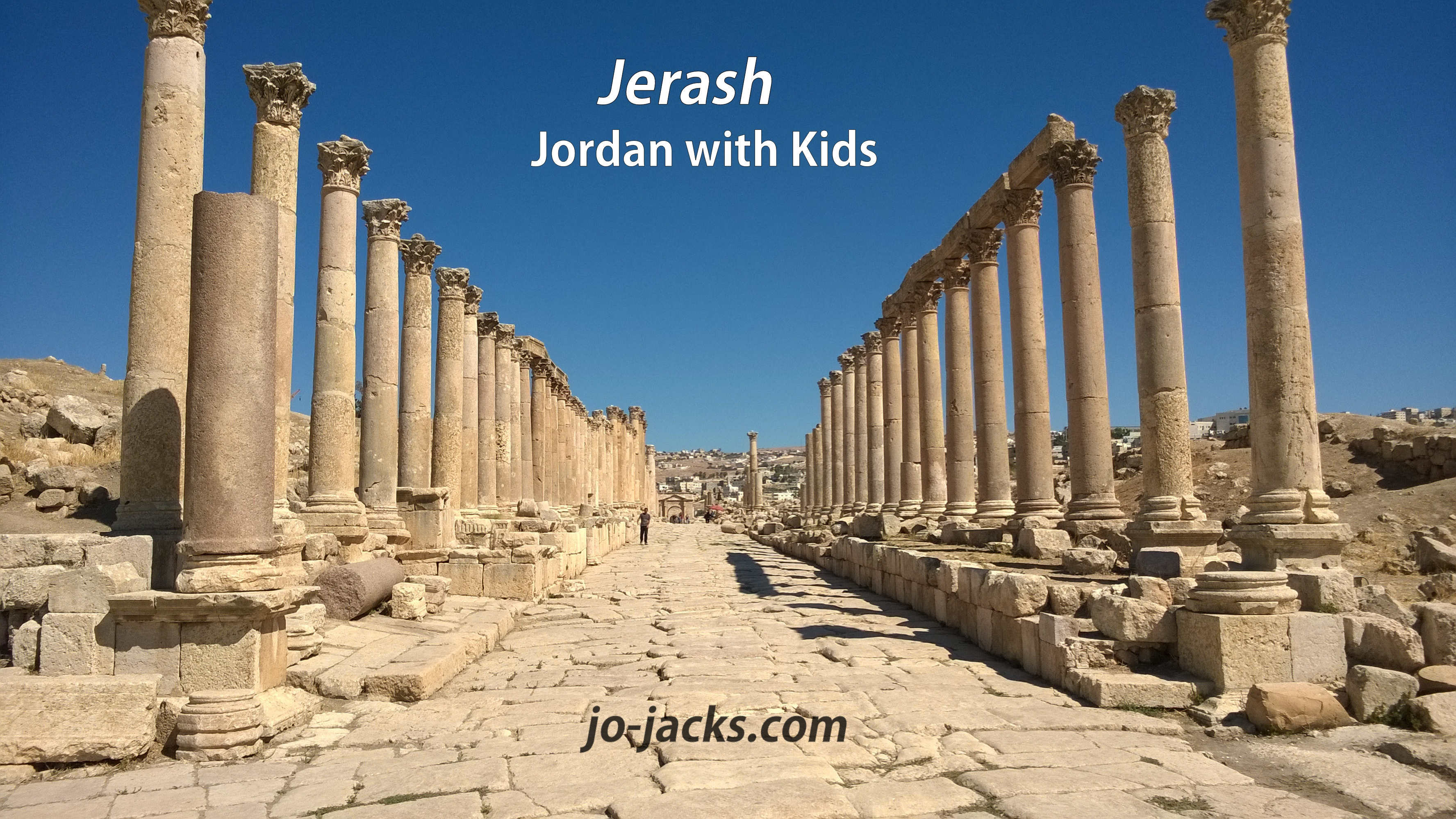 Jerash Rocks! Jordan with Kids