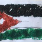 Flag of Jordan Craft – Decorate with Sea Salts