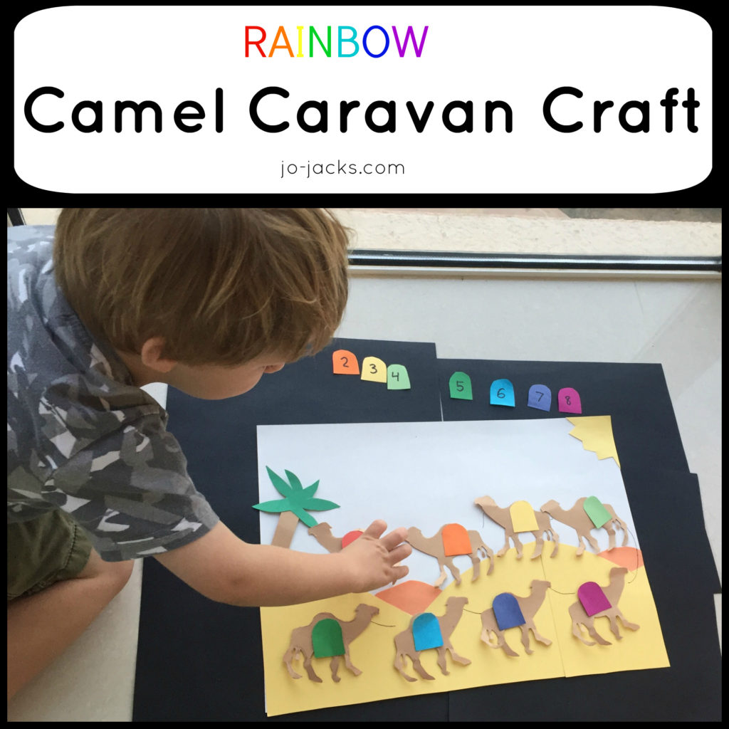 camel caravan craft