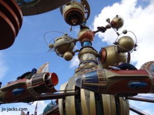 rocket ride disney paris