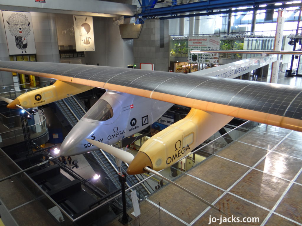 Cite des Enfants solar impulse 1