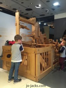 wood machine Cite des Enfants