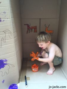 Cave Painting for kids