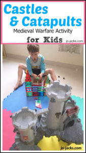 Catapult and Castles activity