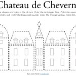 Chateau de Cheverny Coloring Page – Free Printable
