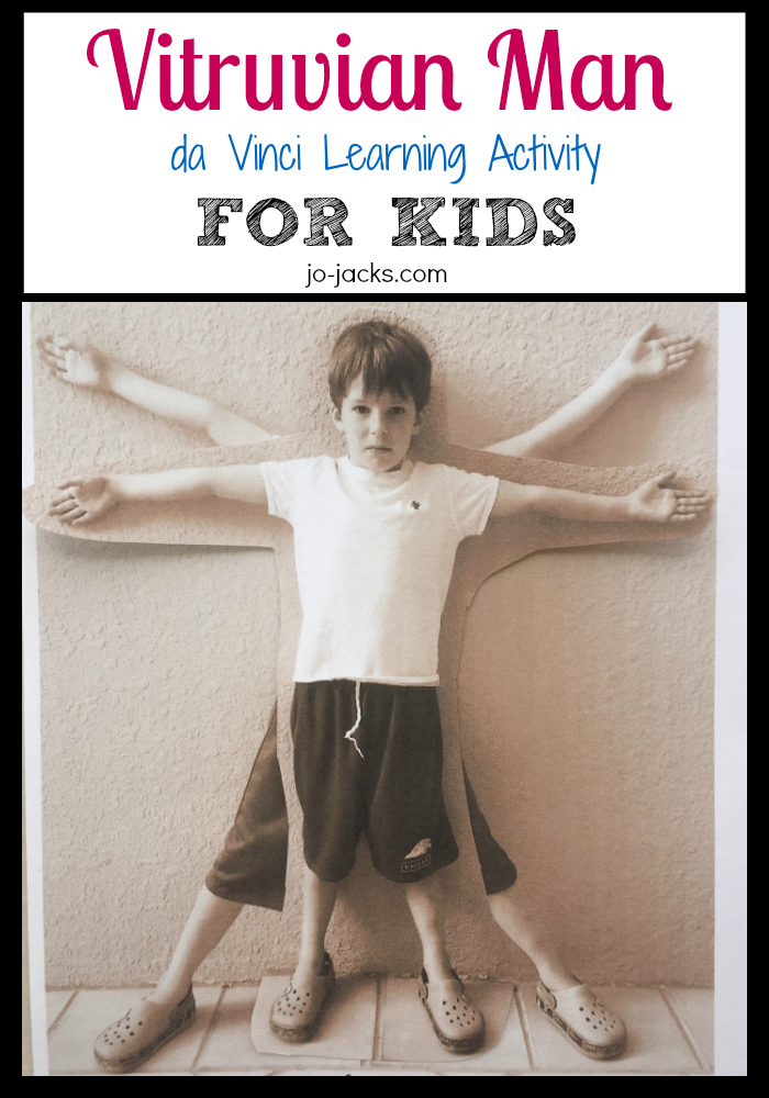 Vitruvian Man Activity for Kids