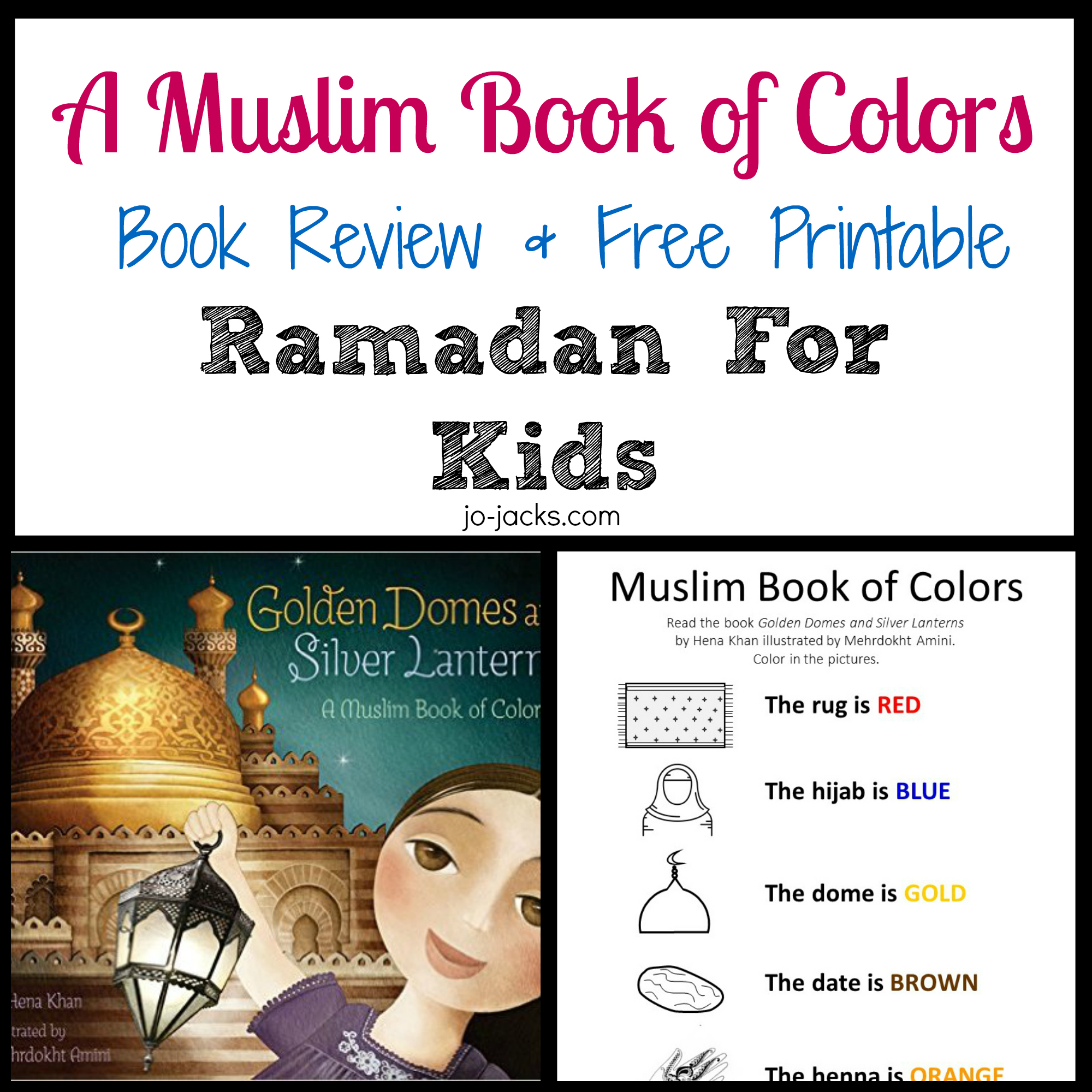 Muslim book of colors