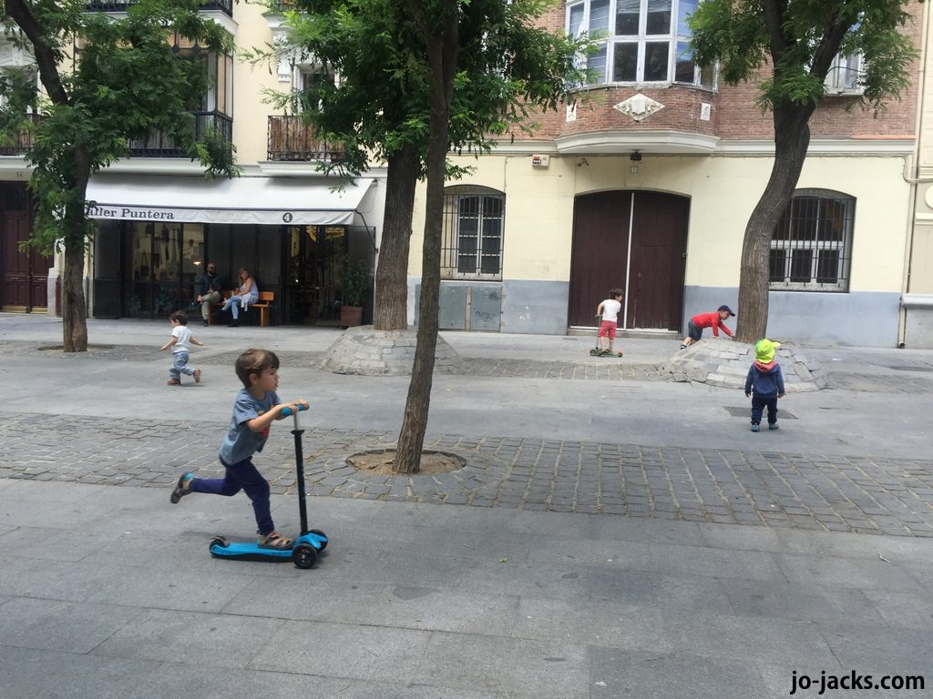 Madrid fun for kids